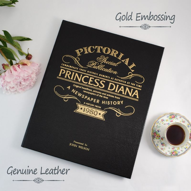 Princess Diana - Pictorial Newspaper Book | Sweet and Nostalgic